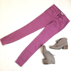 Free People Mauve Skinnies - J045
